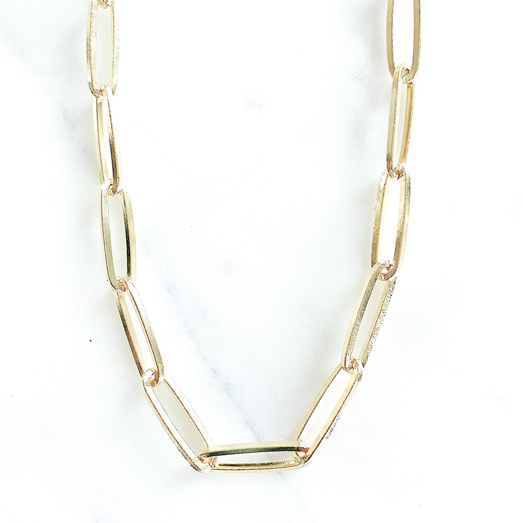 Everyday Paper Clip Necklace