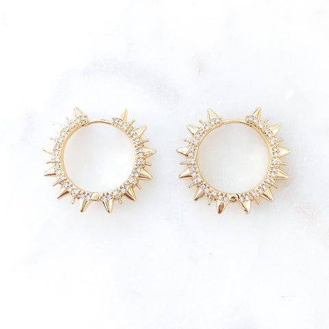Statement Spike Hoops