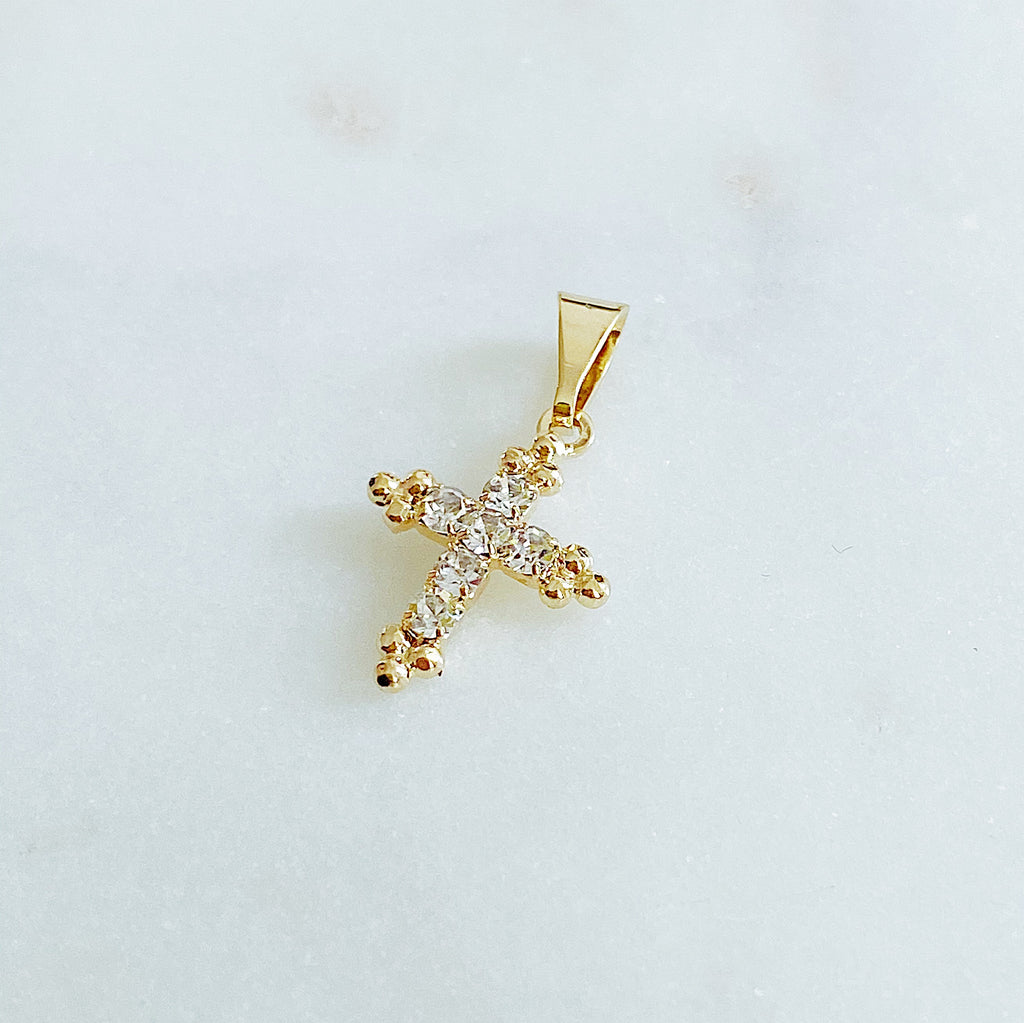 Fancy Cross Charm