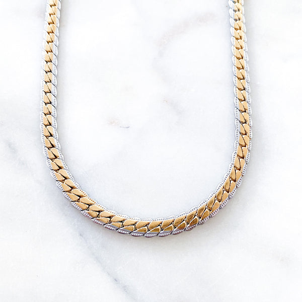 Two Tone Mariana Necklace