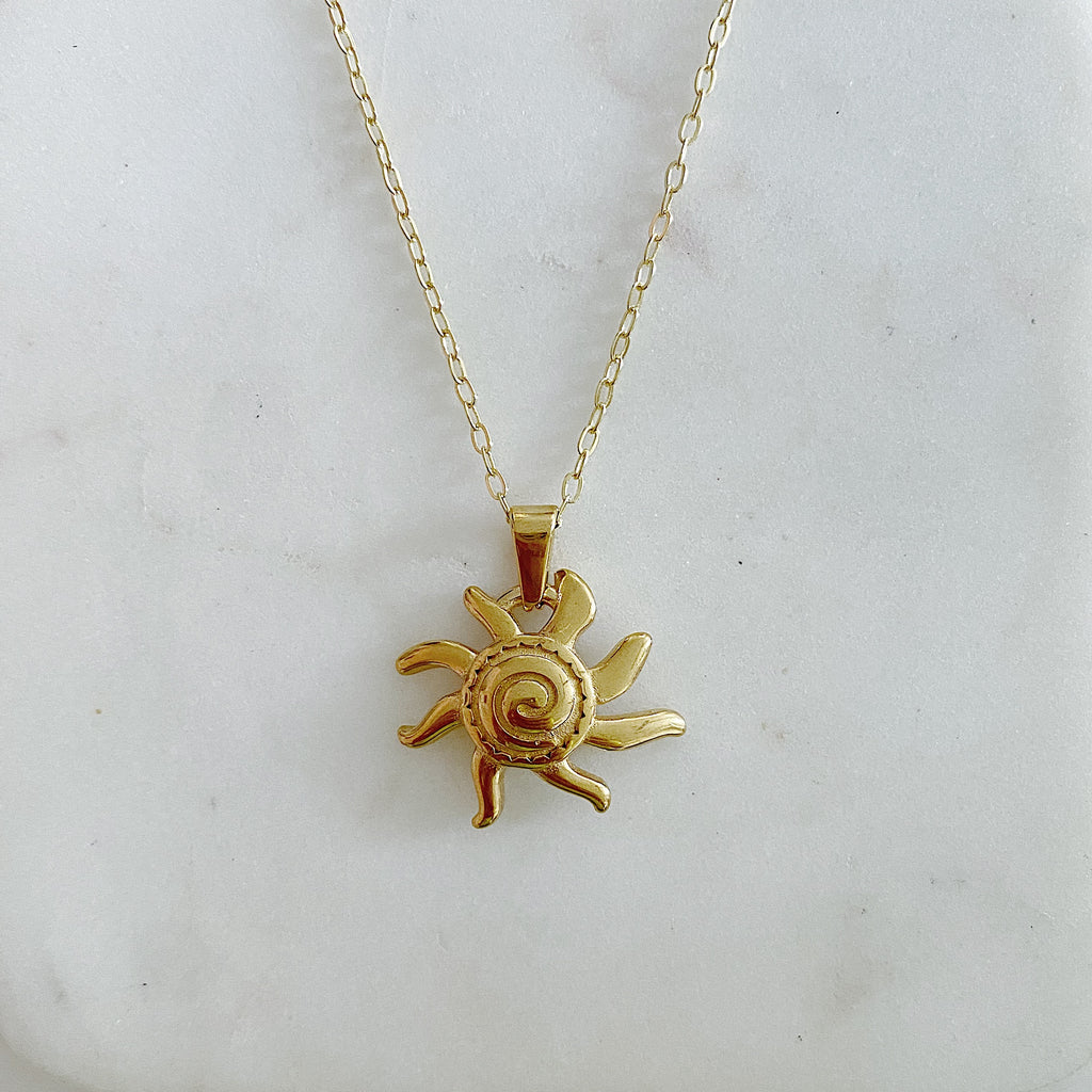Here Comes The Sun Necklace