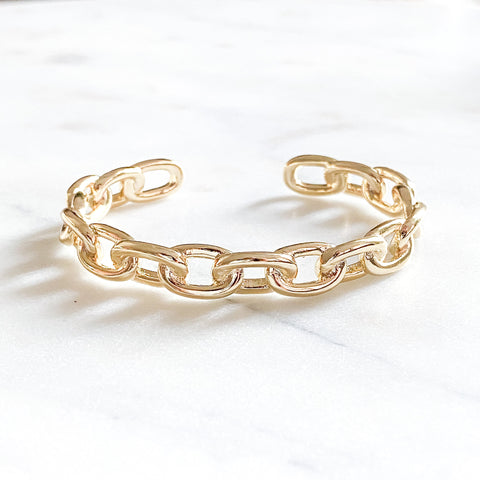 Bulky Chain Bangle