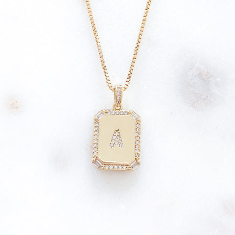 Everyday Letter Necklace
