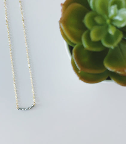 Tiny Silver Classic Necklace