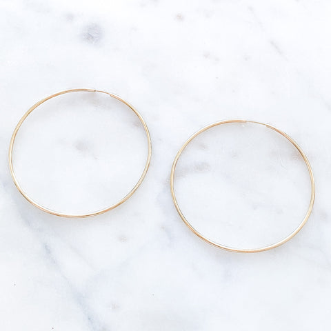 60mm Thin Hoops
