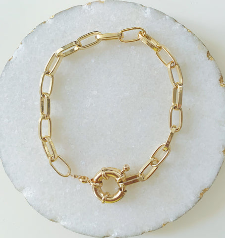 Sailor Statement Bracelet