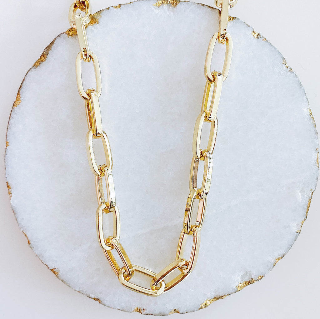 Bold Sailor Statement Necklace