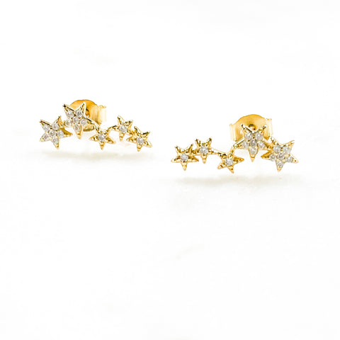 Cz Constellation Studs