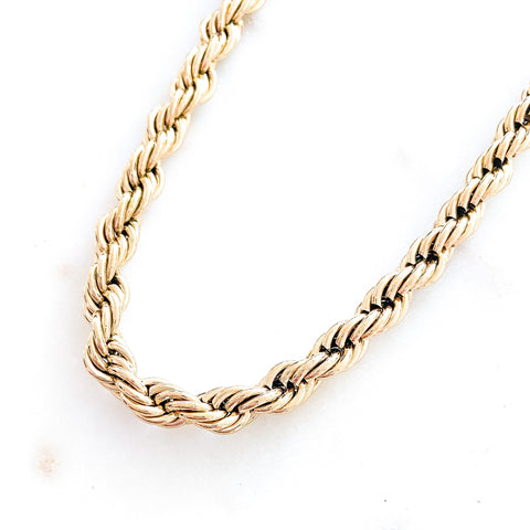 Bulky Rope Necklace