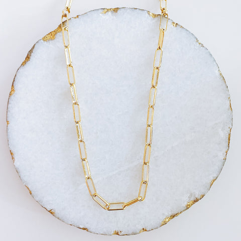 Long Oval Link Choker
