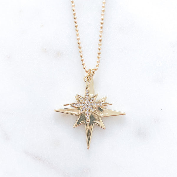 Double Stardust Necklace