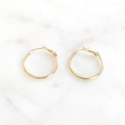 Thin Small Hoops