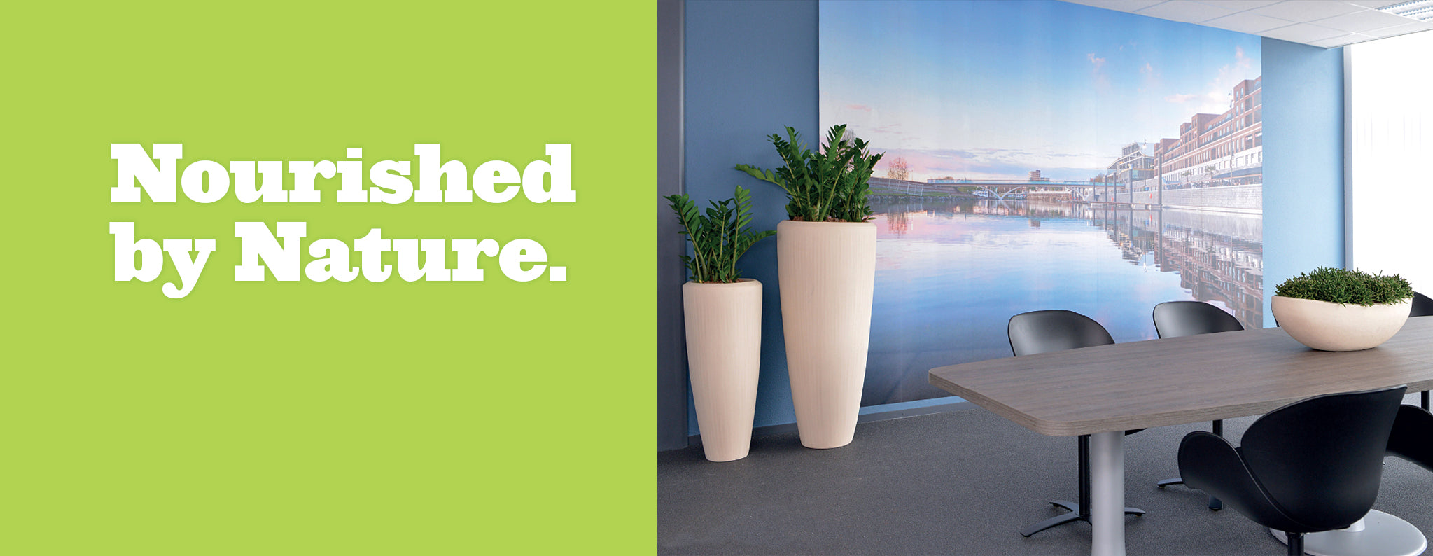 Nourished by Nature with Light Stone Planters