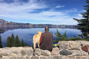 Crater Lake National Park is one of the least dog-friendly national parks. We learned this the hard way.