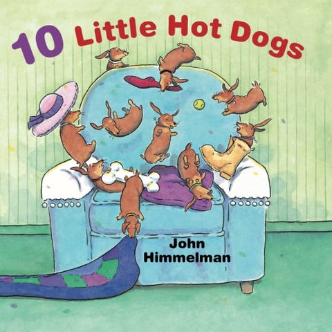 10 little hot dogs children's book