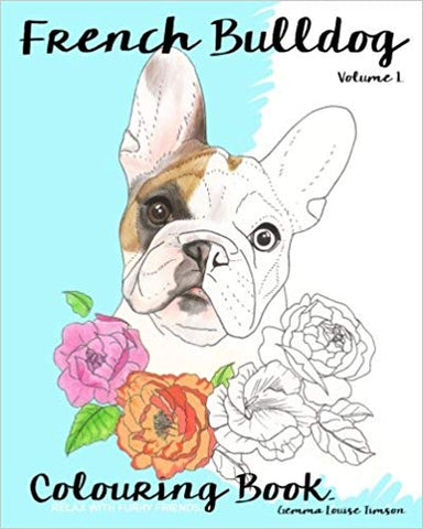 French Bulldog coloring book