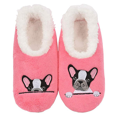 French Bulldog Women's Slippers