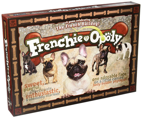 Frenchieopoly board game