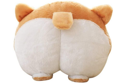 Best Corgi Gifts - Corgi Butt Throw Pillow