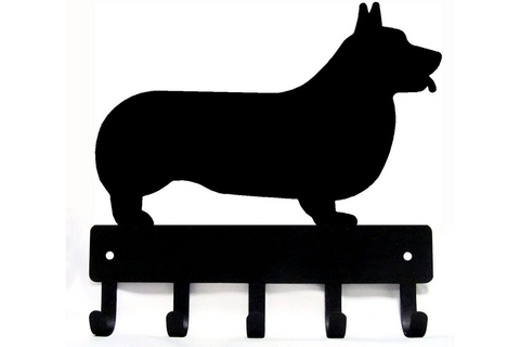 Best Corgi Gifts - Corgi Wall Organizer and Corgi Wall Hooks