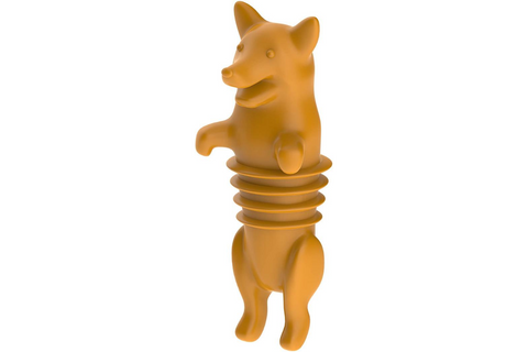 Best Corgi Gifts - Corgi Wine Bottle Stopper