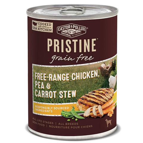 Best Dog Food - Product Reviews - Castor & Pollux Pristine Wet Canned Dog Food