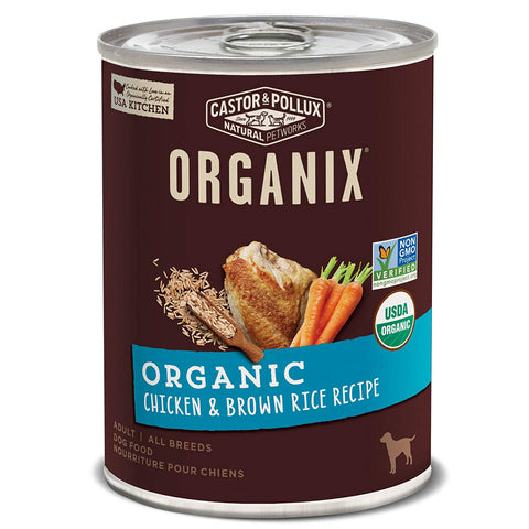 Best Dog Foods - Product Review - Castor & Pollux Organix Organic Chicken & Brown Rice Recipe Wet Dog Food