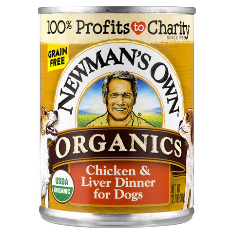 Best Dog Foods - Product Review - Newman's Own Organic Canned Wet Dog Food