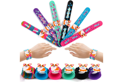 Best corgi gifts for kids - corgi slap bracelets.png