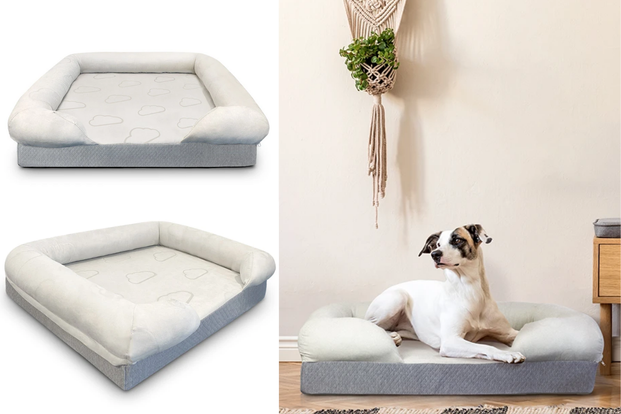 Dog gift ideas - memory foam dog bed