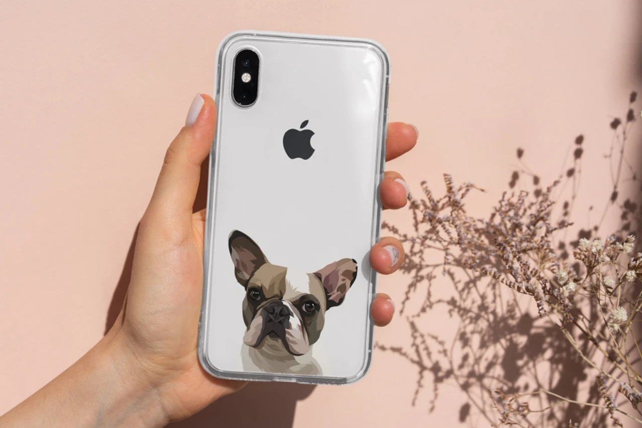 West & Willow Custom Pet Portrait Phone Cases