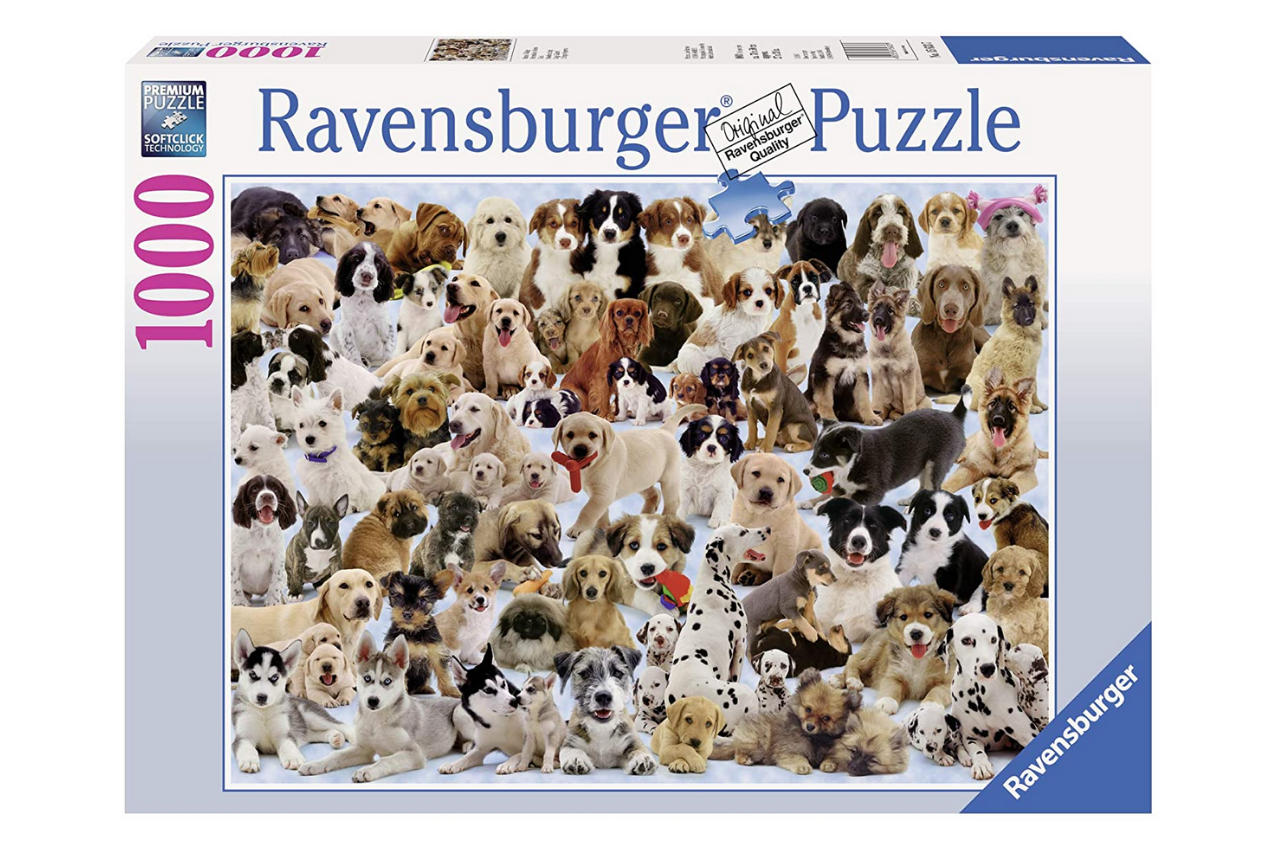 Ravensburger Dogs Galore - 1000 Piece Jigsaw Puzzle for Adults