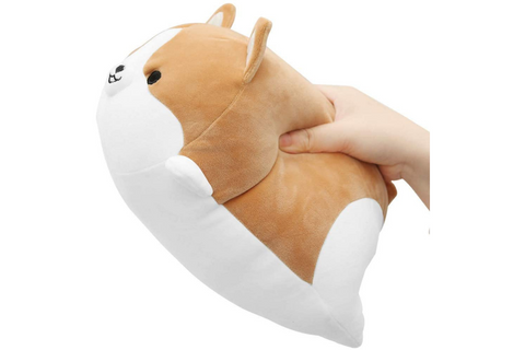 Corgi Dog Plush Pillow