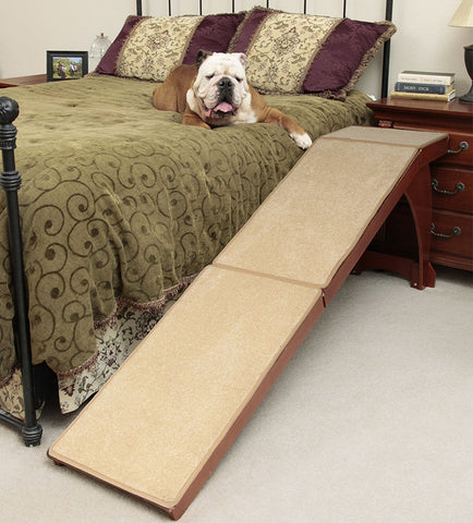 Solvit Wood Bedside Dog Ramp