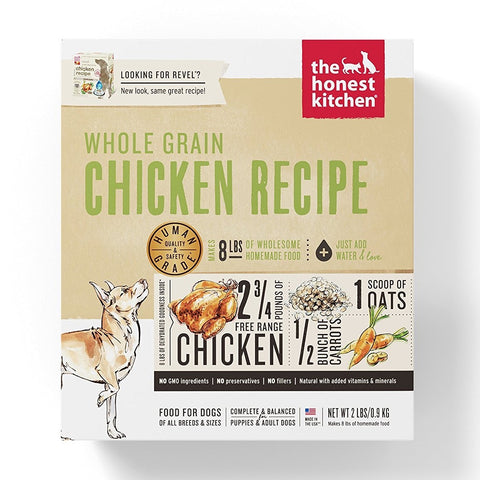 The Best Organic, Natural, and Grain Free Dog Foods - Honest Kitchen Human Grade Dehydrated Organic Grain Chicken Dog Food