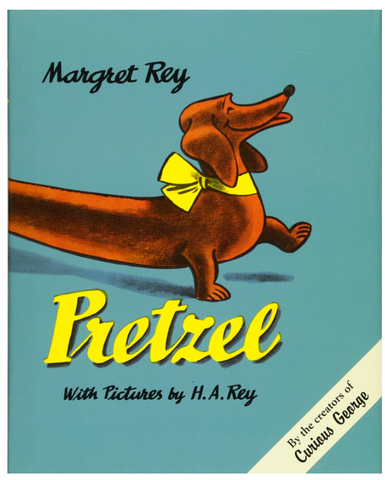 Pretzel (Hardcover) | Written by Margret and H.A. Rey (the creators of Curious George)