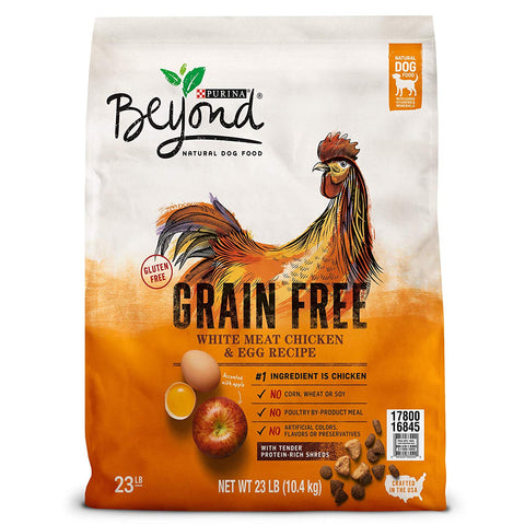 Purina Beyond Grain Free White Meat Chicken & Egg Recipe Adult Dry Dog Food