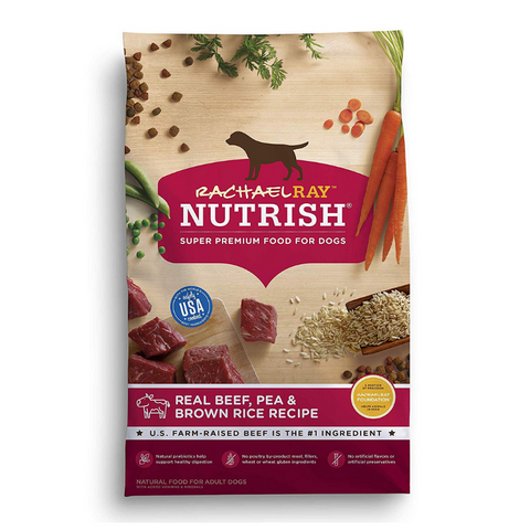 Rachael Ray Nutrish Natural Dry Dog Food, Real Beef & Brown Rice