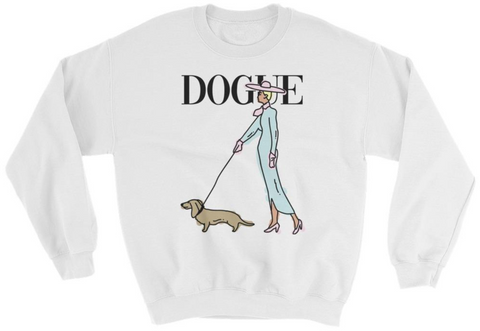 Dogue Dachshund Women's Sweatshirt