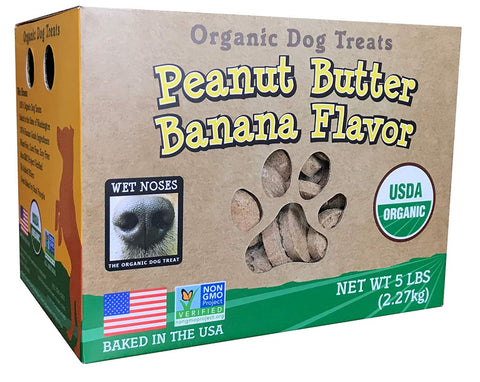 Wet Noses All Natural Dog Treats Peanut Butter W Bananas