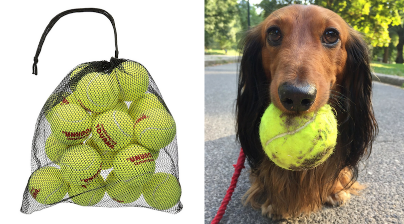 django product review Tourna Mesh Carry Bag of 18 Tennis Balls