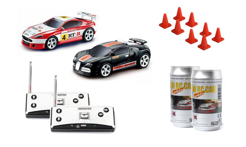 Mini RC Car - 2 Pack