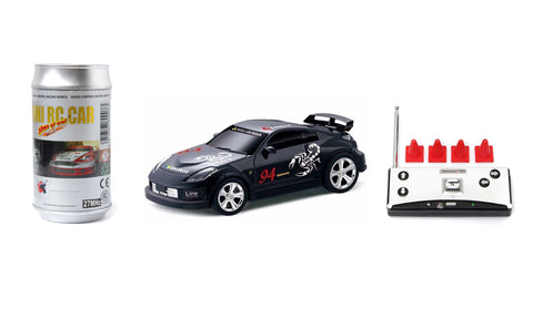 Mini RC Car Black - 27MHz