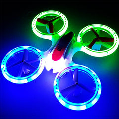 RC LED Color Changing Drone