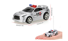 Mini RC Police Car