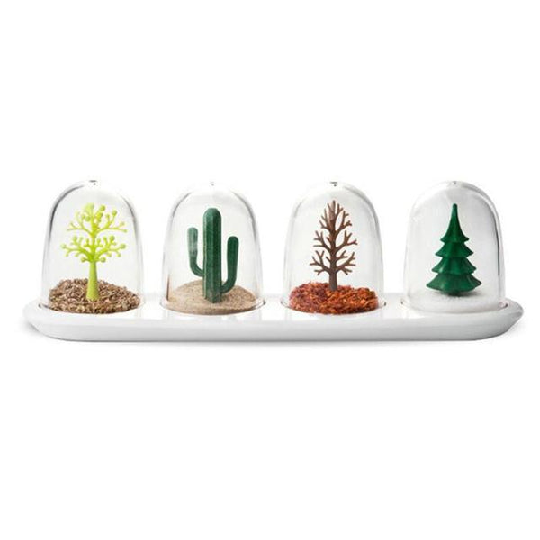 Tempus - Ornament Dome Salt & Pepper Shakers