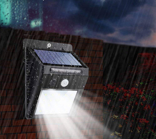 Sol - Solar Powered Motion Sensor Outdoor Light