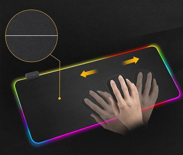 13 Light Mode RGB Mouse Pad