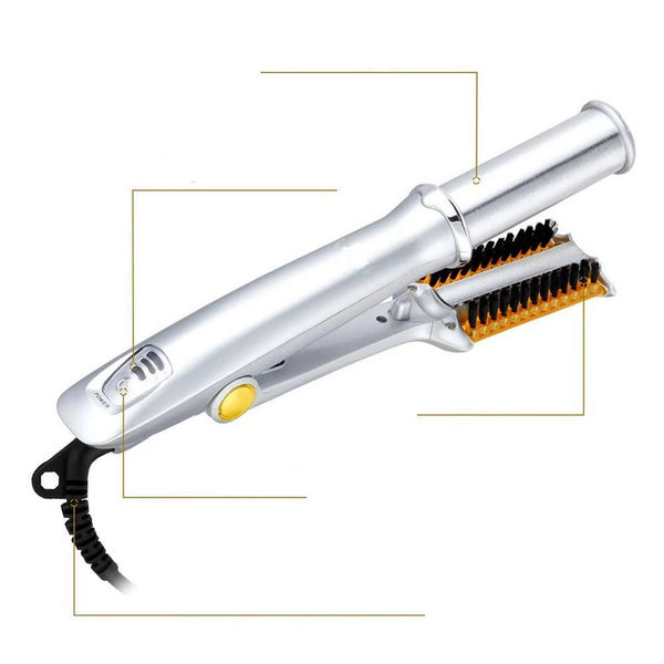 Hair Curling Iron Brush