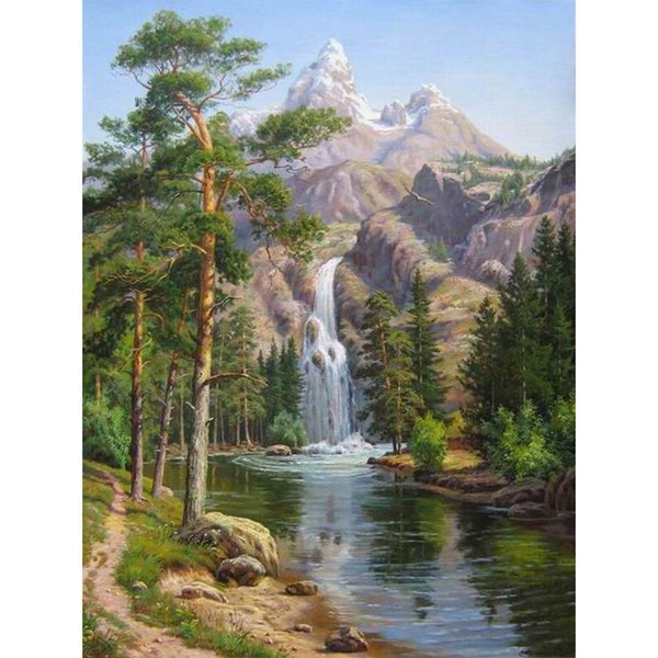 Waterfall Forest - GemPaint™ Kit